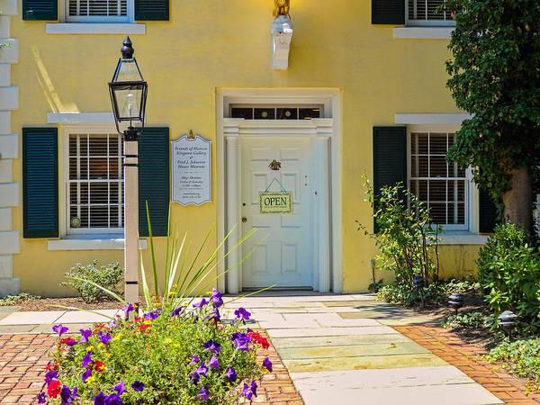 Photograph - Yellow House In Kingston by Nancy De Flon