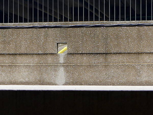 Photograph - Yellow Line by Richard Reeve