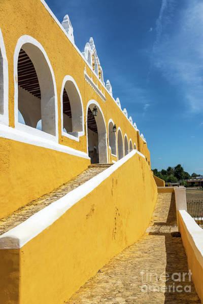 Wall Art - Photograph - Yellow Monastery Vertical View by Jess Kraft