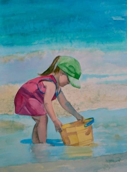 Painting - Yellow Pail by Lynne Atwood