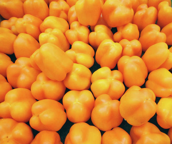 Wall Art - Photograph - Yellow Peppers by Marilyn Hunt
