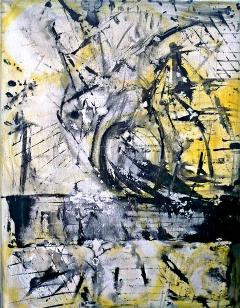 Painting - Yellow by 'REA' Gallery