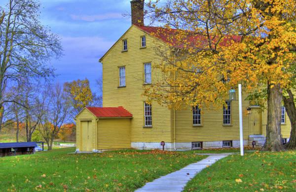 Photograph - Yellow Shaker House 2 by Sam Davis Johnson