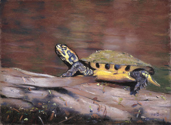Painting - Yellow Slider by Christopher Reid