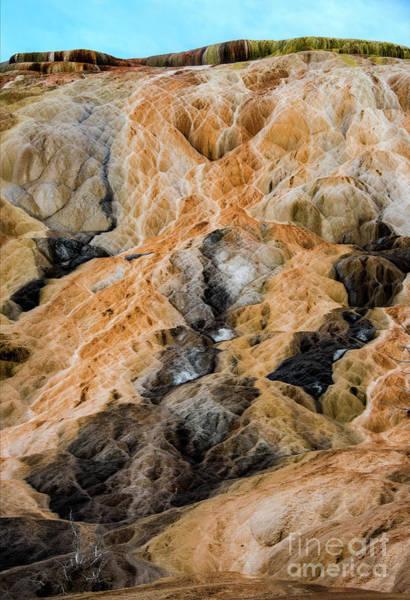 Pyrography - Yellow Stone by Mae Wertz