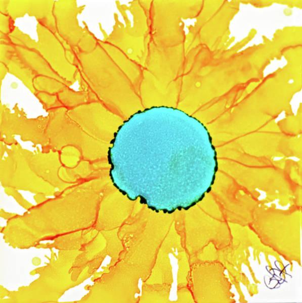 Painting - Yellow Sunflower by Christine Dekkers