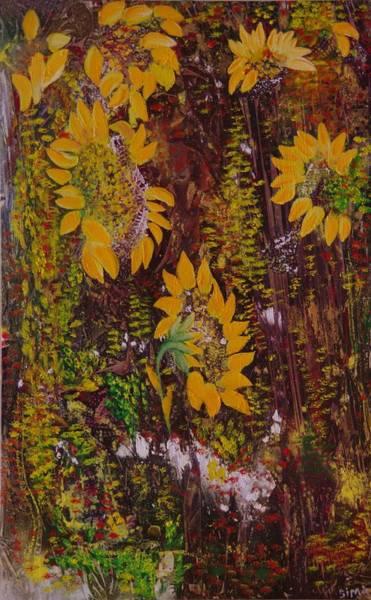 Yellow Sunflowers Art Print