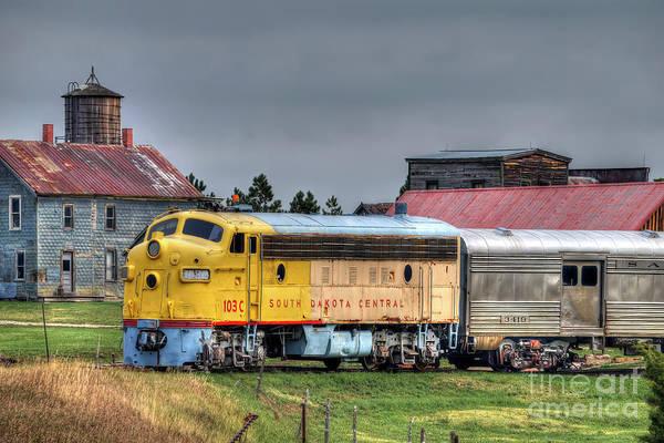 Wall Art - Photograph - South Dakota Train by Rick Mann