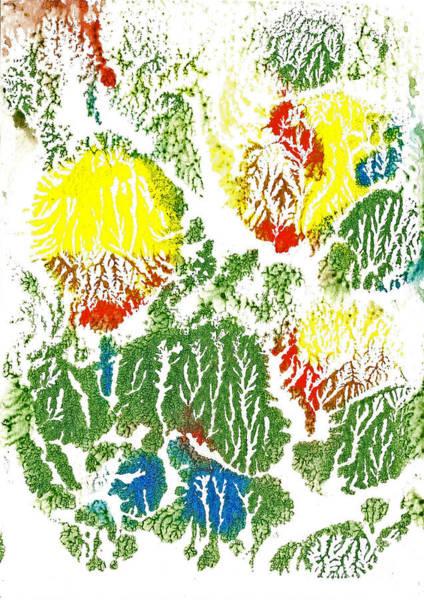 Painting - Yellow Tulips 1 by Asha Sudhaker Shenoy