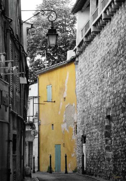 Photograph - Yellow Wall by Rasma Bertz