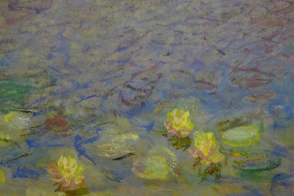 Photograph - Yellow Water Lilies Monet by August Timmermans