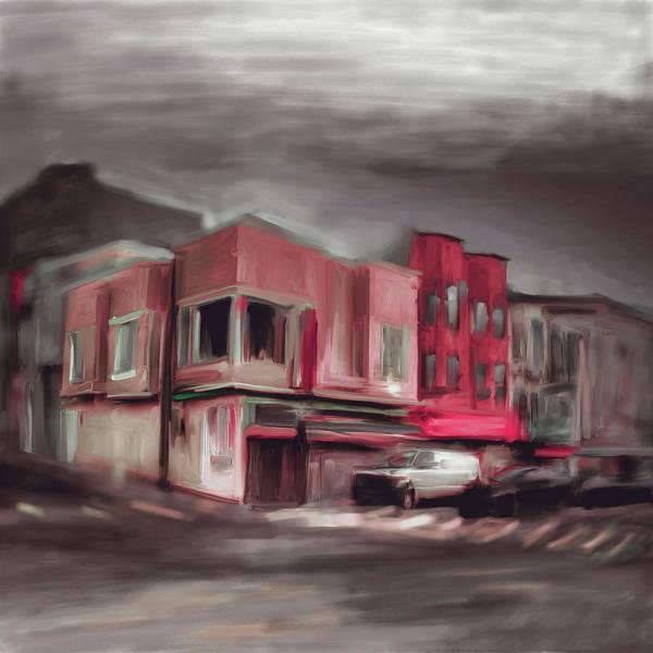 Chinatown Painting - Yellowcorner China Town Powell 554 1 by Mawra Tahreem