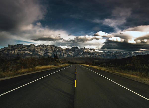 Wall Art - Photograph - Yellowhead Highway by Cale Best