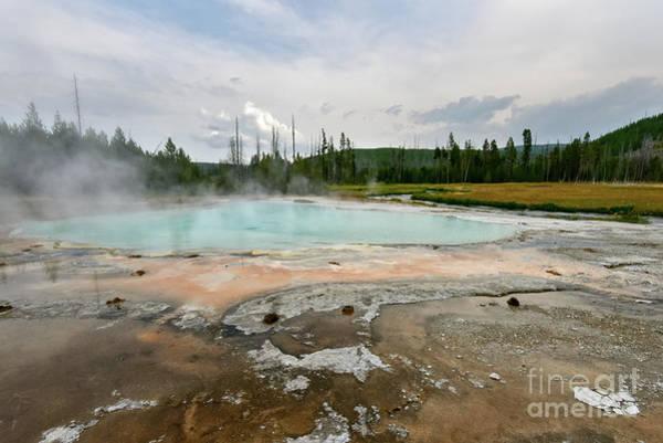 Photograph - Yellowstone Acid Pool by Paul Quinn