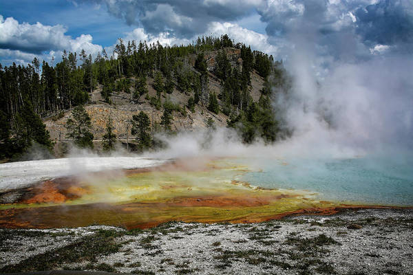Photograph - Yellowstone Colors #13 by Scott Read