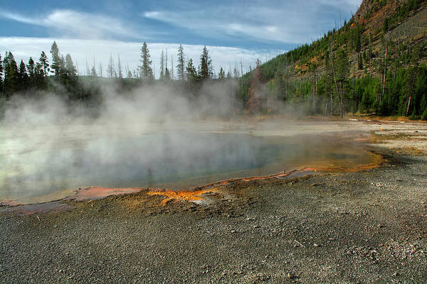 Photograph - Yellowstone Colors #5 by Scott Read