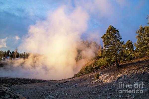 Wall Art - Photograph - Yellowstone Geyser by Twenty Two North Photography