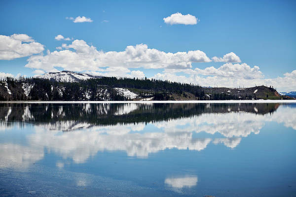 Wall Art - Photograph - Yellowstone Lake Reflections by Paul Freidlund