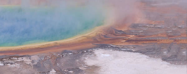 Digital Art - Yellowstone National Park 30x12 Second Panorama  By Lena Owens, @ole by OLena Art Brand