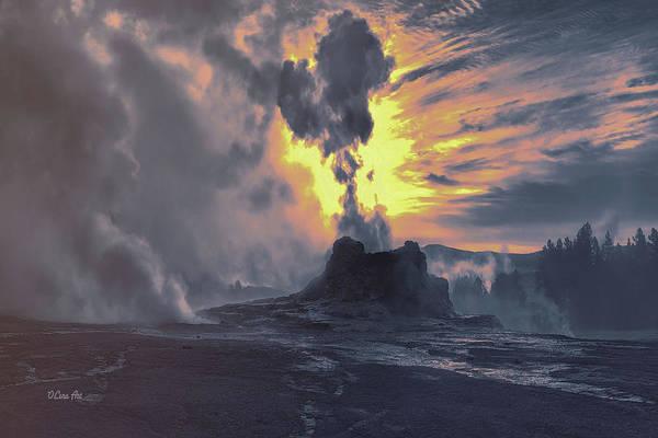 Digital Art - Yellowstone National Park by OLena Art Brand