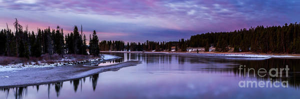 Wall Art - Photograph - Yellowstone River Dawn by Twenty Two North Photography