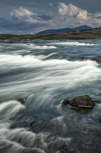 Photograph - Yellowstone River by Randall Nyhof