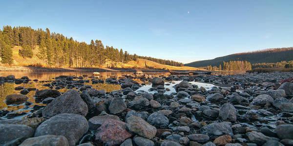 Photograph - Yellowstone River by Steve Stuller