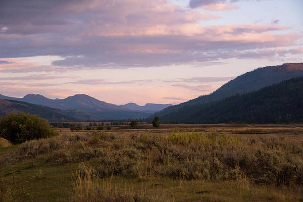 Photograph - Yellowstone Sunset by Jennifer Ancker