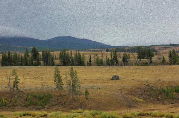 Wall Art - Photograph - Yellowstone's Autumn A by Felipe Gomez