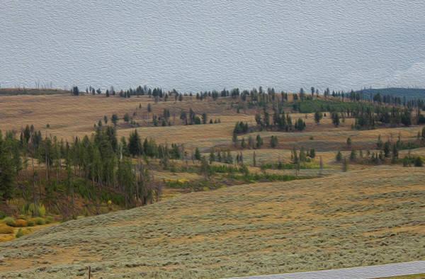 Wall Art - Photograph - Yellowstone's Autumn C by Felipe Gomez