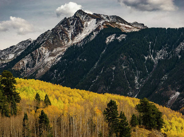 Photograph - Yellow Mountain by Gary Lengyel