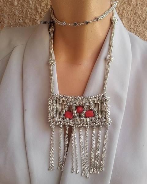 Wall Art - Jewelry - Yemenit Beaded Jewelry  by Nurit Tzubery