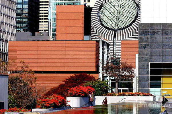 Photograph - Yerba Buena Garden In San Francisco 40d003675 by San Francisco Art and Photography
