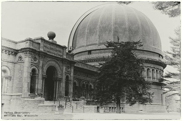 Photograph - Yerkes Observatory 1 by John Meader