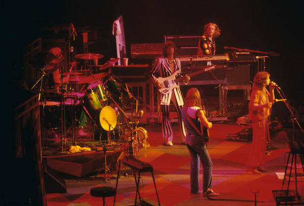 Photograph - Yes - Close To The Edge Tour by Rich Fuscia