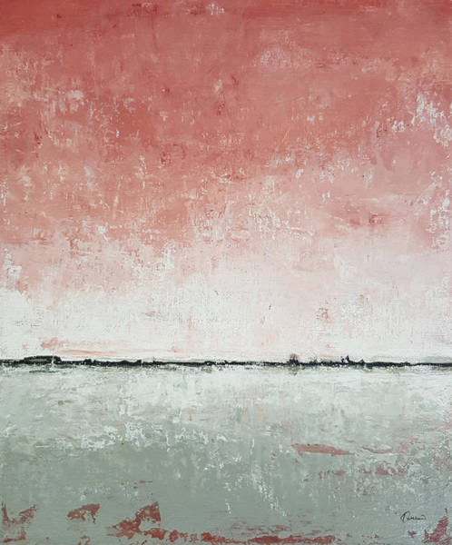 Ocean Scape Painting - Yesterday Mood by Kathleen Wong