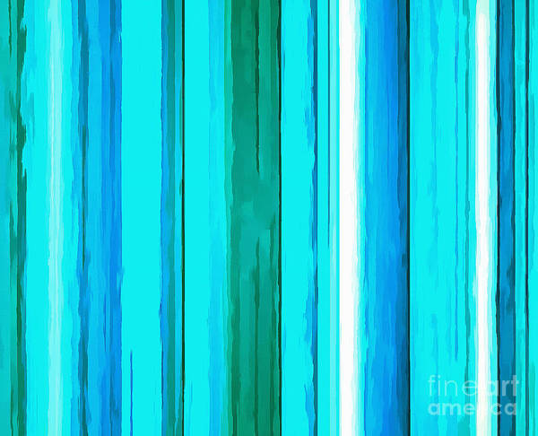 Vertical Line Digital Art - Yesterdays Blues by Krissy Katsimbras
