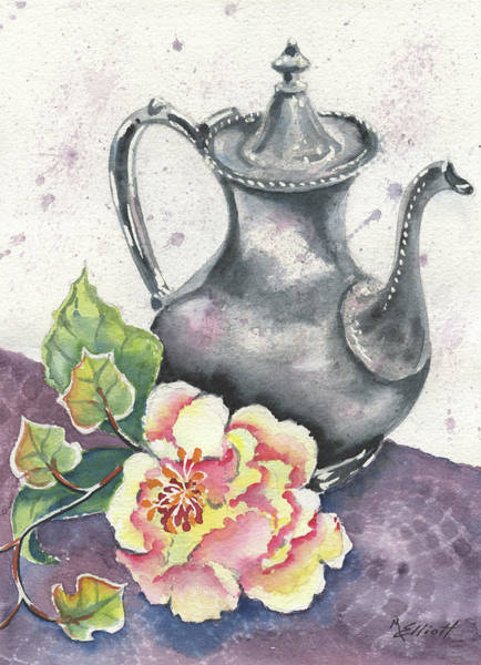 Tea Painting - Yesterdays Gone by Marsha Elliott