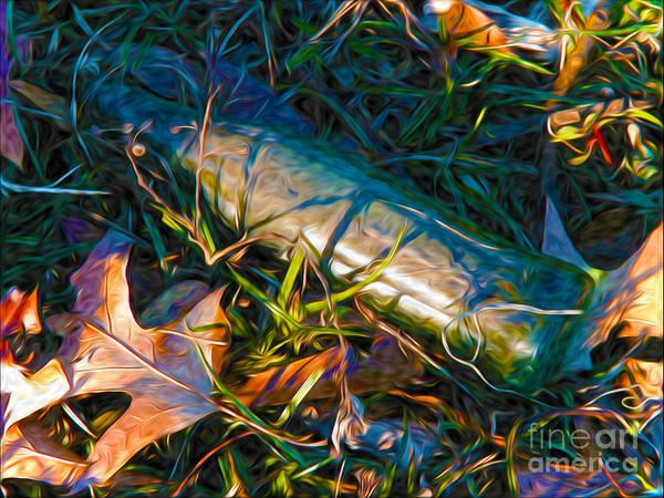 Hidden Treasures Digital Art - Yesterday's Refreshment by Laura Brightwood