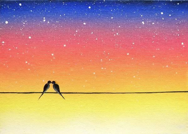 Wall Art - Painting - Yestereve by Rachel Bingaman
