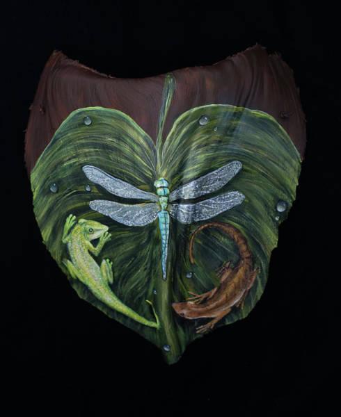Painting - Yin Yang by Nancy Lauby