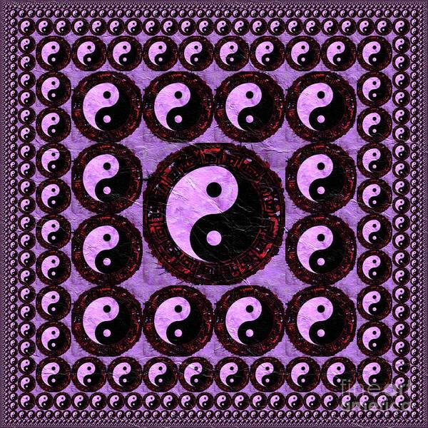 Esoteric Painting - Yin Yang Pattern by Pierre Blanchard