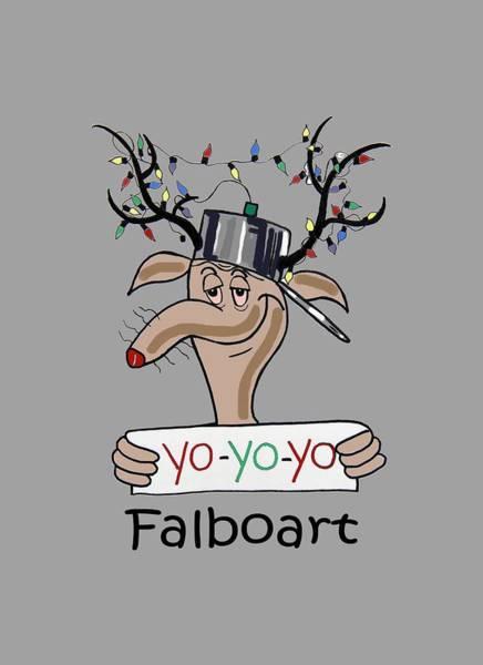 Painting - Yo Yo Yo by Anthony Falbo