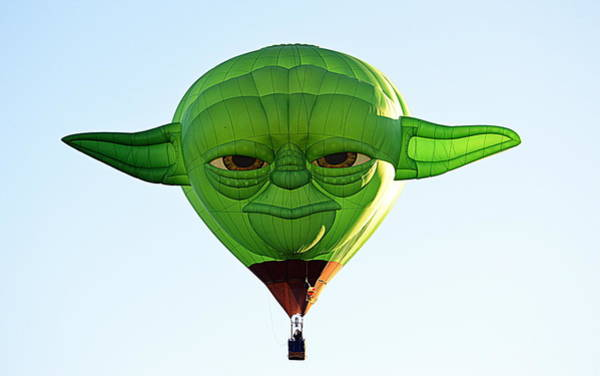 Photograph - Yoda  by AJ Schibig