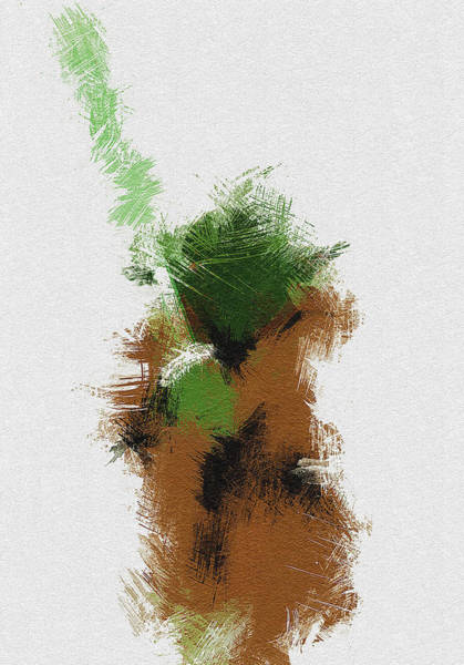 Different Painting - Yoda by Miranda Sether