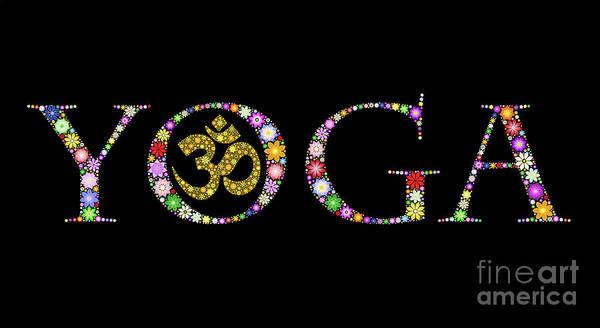 Photograph - Yoga Aum by Tim Gainey
