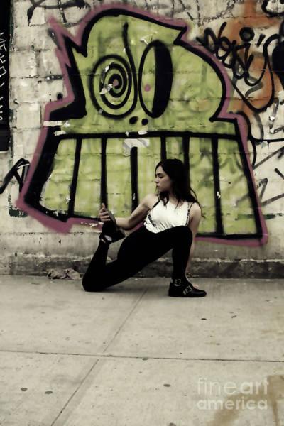 Photograph - Yoga Girl New York by Doc Braham