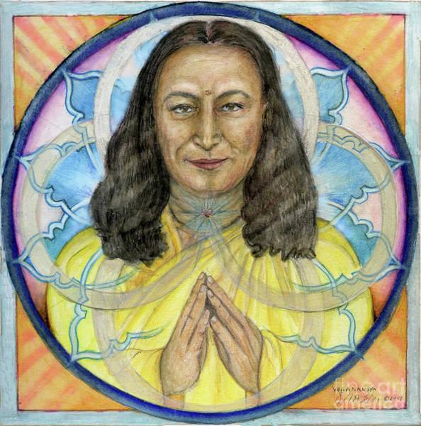 Painting - Yogananda by Jo Thomas Blaine