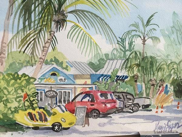 Captiva Island Painting - Yolo Captiva by Maggii Sarfaty