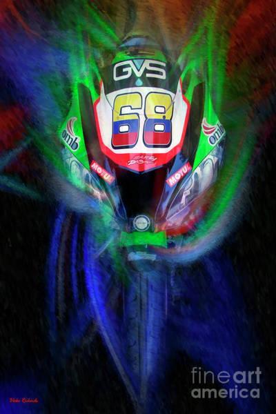 Photograph - Yonny Hernandez Pedercini Kawasaki Zx-10rr  by Blake Richards